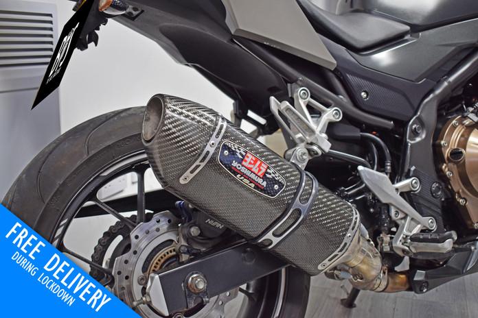 Used Honda CB500F Naked for sale Northampton Bike Sanctuary yoshi exhaust.jpg