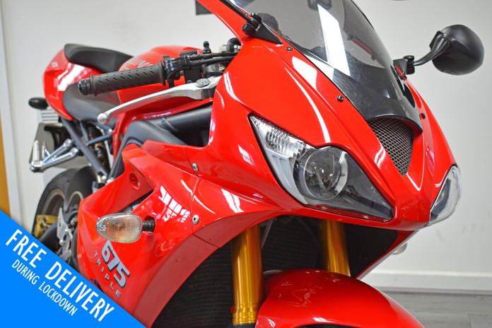 Used Triumph Daytona 675 Super Sport for sale northampton bike sanctuary head lights.jpg