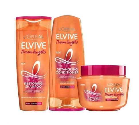 L'oreal Elvive (Elseve) Dream Lengths Shampoo & Conditioner UK Review