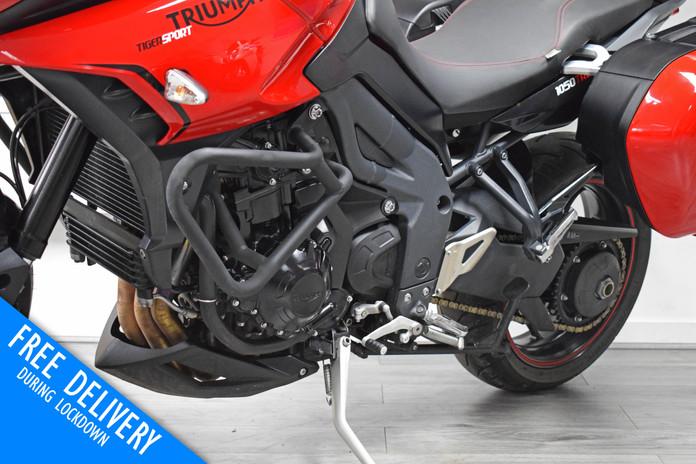Used triumph tiger 1050 sport for sale northampton bike sanctuary engine bars.jpg