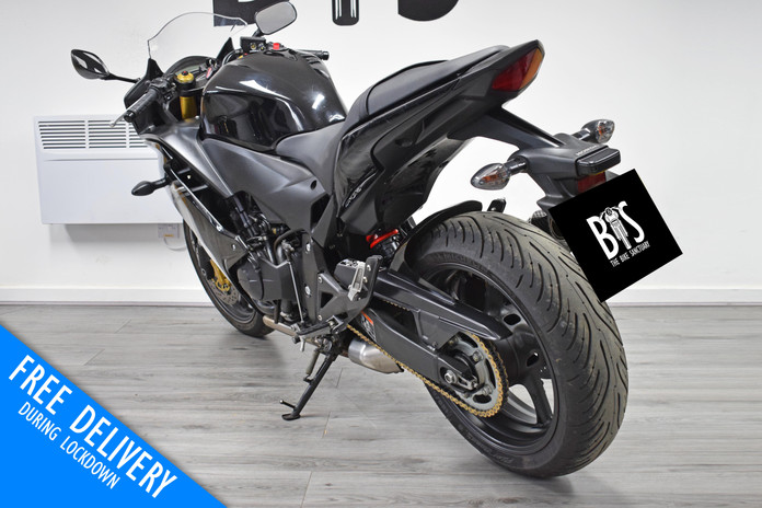 Used Honda CBR600F for sale Northampton Bike Sanctuary left rear.jpg