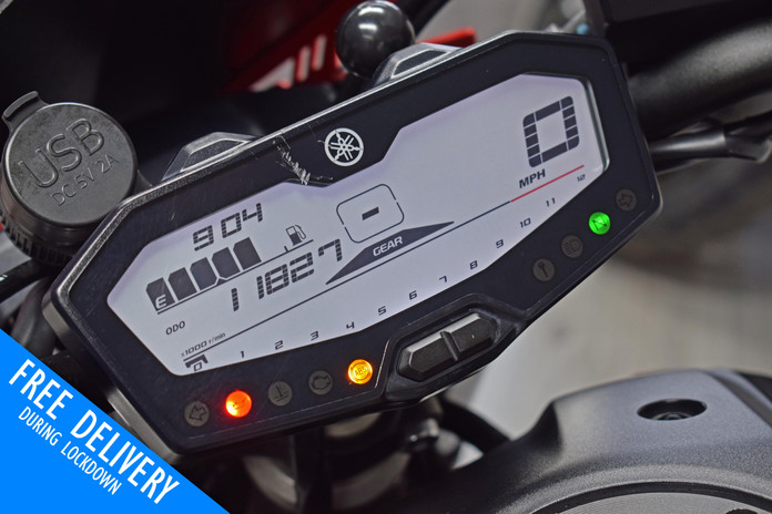 Used yamaha MT07 Black 2020 for sale northampton bike sanctuary clocks.jpg