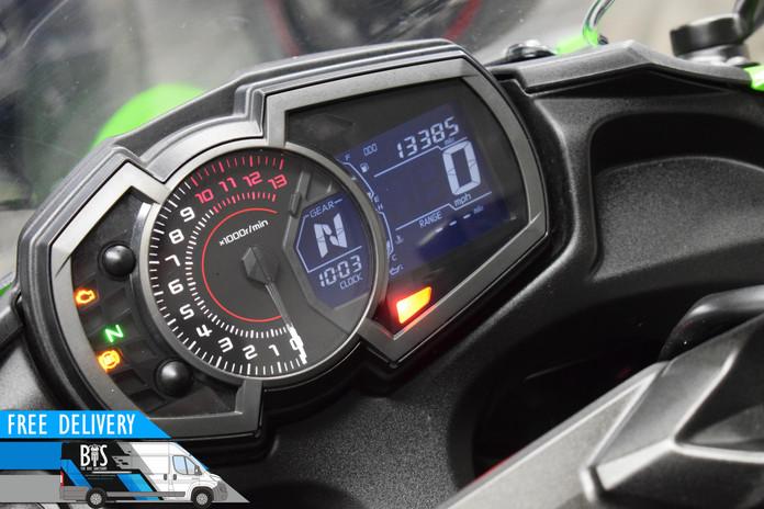 Used Kawasaki Ninja 650 ABS for sale northampton bike sanctuary clocks dials.jpg