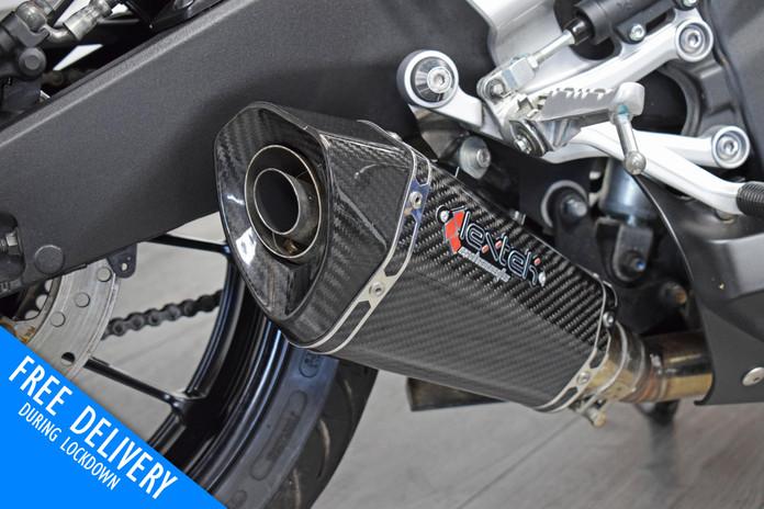Used Yamaha R125 for sale northampton bike sanctuary lextek exhaust.jpg