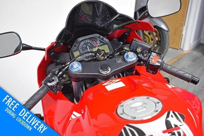 Used Honda CBR600RR Red For Sale Northampton Bike Sanctuary clocks tank.jpg