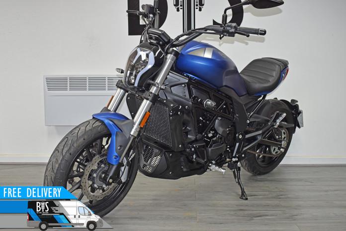Used benelli 502c city cruiser blue for sale northampton bike sanctuary_1.jpg