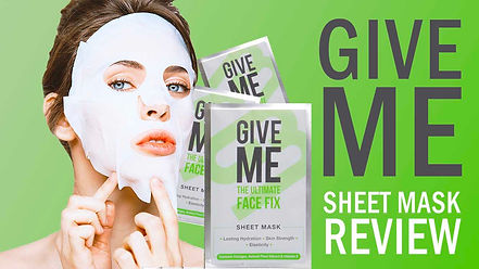 GIVE ME Sheet Face Mask Review.jpg