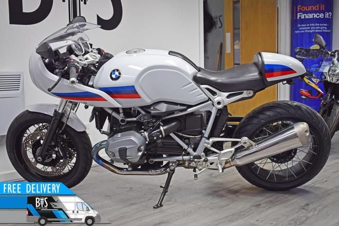 Used BMW R9T Racer for sale Northampton Bike Sanctuary left side.jpg