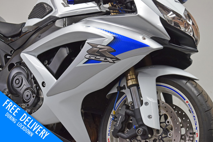 Used Suzuki GSXR600 K8 White for sale northampton bike sanctuary headlight fairing.jpg