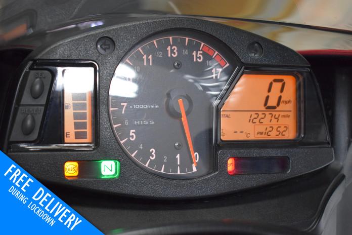 Used Honda CBR600RR for sale Northampton Bike Sanctuary clocks dials.jpg