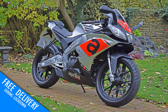 used aprilia rs4 rs125 learner legal for