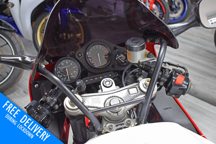 Used Honda CBR900RR Fireblade 1996 for sale northampton bike sanctuary clocks tank.jpg
