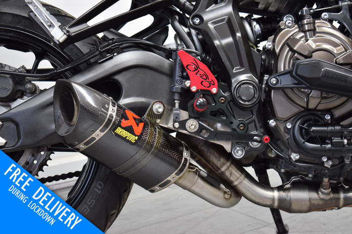 Used yamaha MT07 Black 2020 for sale northampton bike sanctuary akrapovic exhaust.jpg