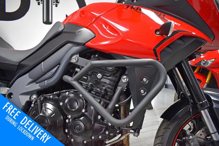 Used triumph tiger 1050 sport for sale northampton bike sanctuary engine bars right.jpg