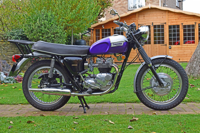 used classic 1970 triumph tiger 100 for