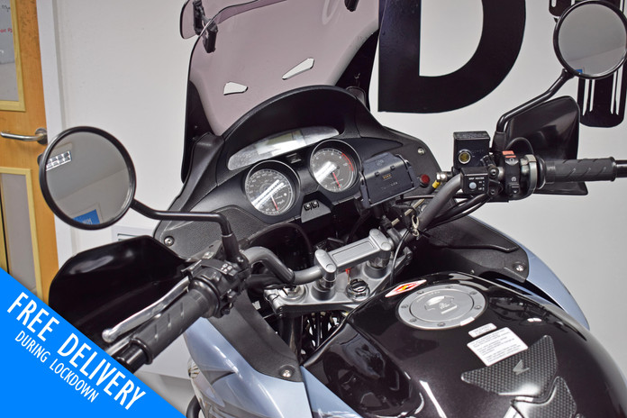 Used Honda XL1000V Varadero for sale northampton bike sanctuary clocks tank.jpg