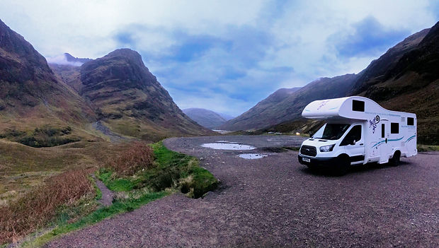 JustGo Motorhome Pioneer Scottish Highla