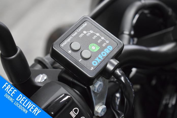 Used Honda CMX500 Rebel for sale Northampton Bike Sanctuary oxford heated grips.jpg