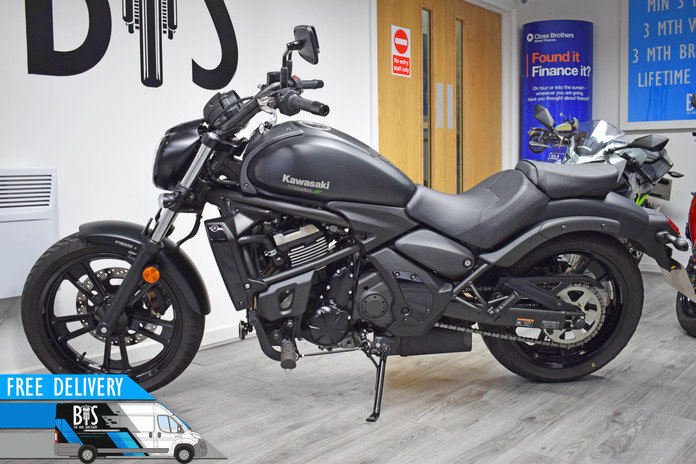 Used Kawasaki VN650 Vulcan for sale northampton bike sanctuary left side.jpg
