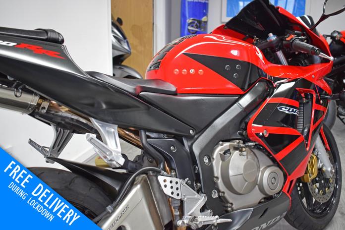Used Honda CBR600RR Red For Sale Northampton Bike Sanctuary right rear close.jpg
