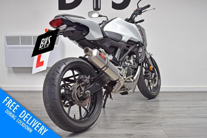 Used Honda CB125R 125 for sale northampton bike sanctuary right rear.jpg