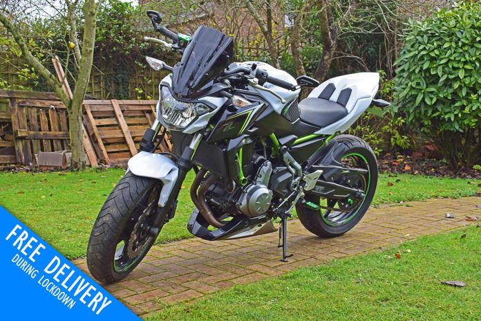 used kawasaki Z650 for sale northampton