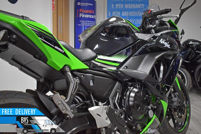 Used Kawasaki Ninja 650 ABS for sale northampton bike sanctuary right rear close.jpg
