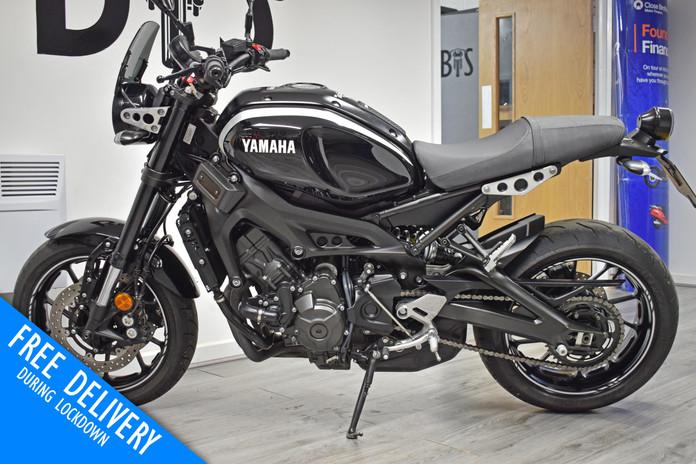 Used Yamaha XVR900 for sale northampton bike sanctuary left side.jpg