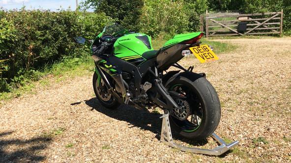 Kawasaki ZX10R KRT Replica First Ride Review