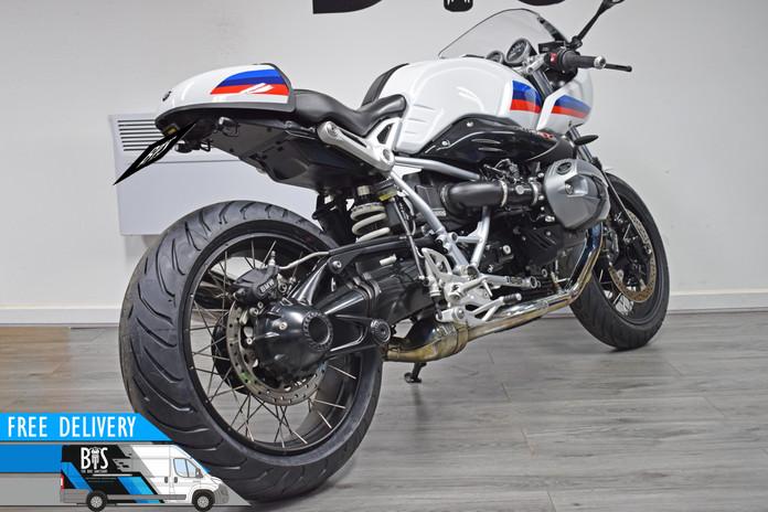 Used BMW R9T Racer for sale Northampton Bike Sanctuary right rear.jpg