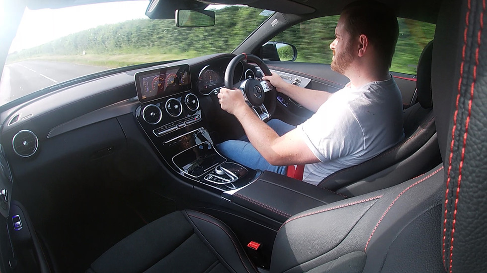 Mercedes-Benz C43 AMG Coupe Facelift Review Test Drive