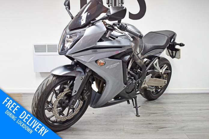 Used Honda CBR650F for sale northampton bike sanctuary front left.jpg