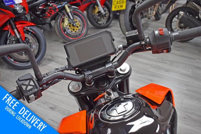 Used KTM Duke 390 for sale northampton bike sanctuary clocks tank.jpg