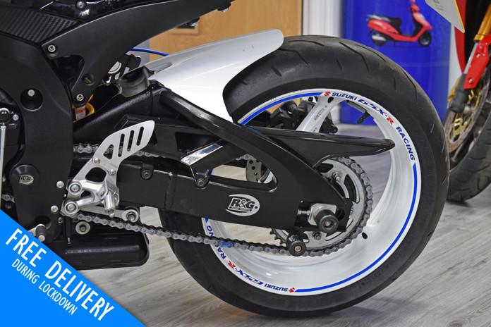 Used Suzuki GSXR600 K8 White for sale northampton bike sanctuary chain wheel.jpg