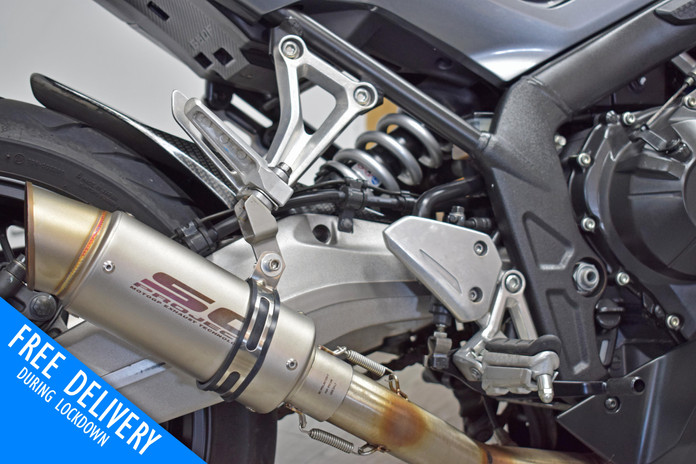 Used Honda CBR650F for sale northampton bike sanctuary SC projects exhaust.jpg