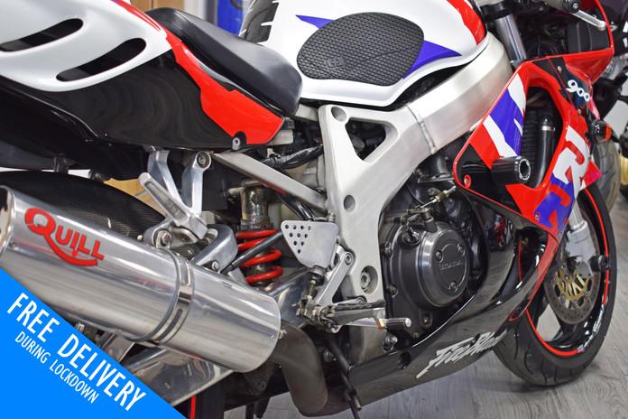 Used Honda CBR900RR Fireblade 1996 for sale northampton bike sanctuary right rear close.jp