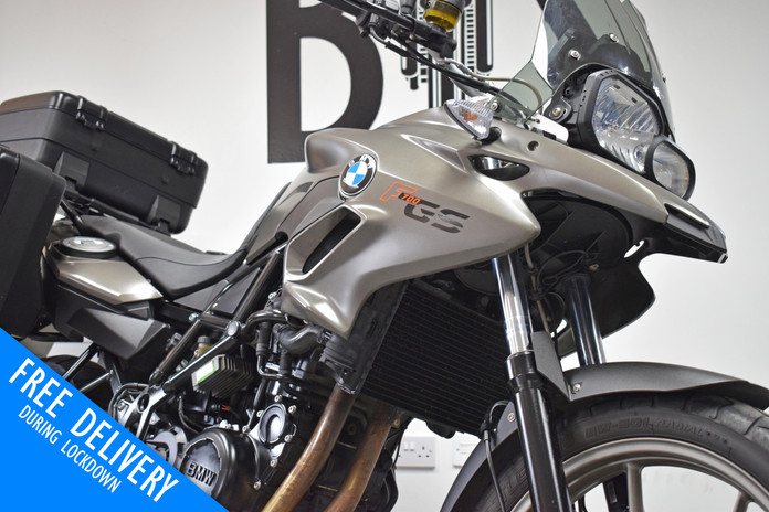 Used BMW F700 GS for sale northampton bike sanctuary front right close.jpg