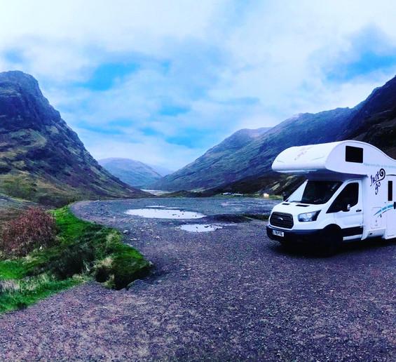 JustGo Adventurer Camper Van Scottish Hi