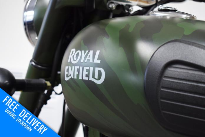 Used Royal Enfield Bullit 500 Battle Gre