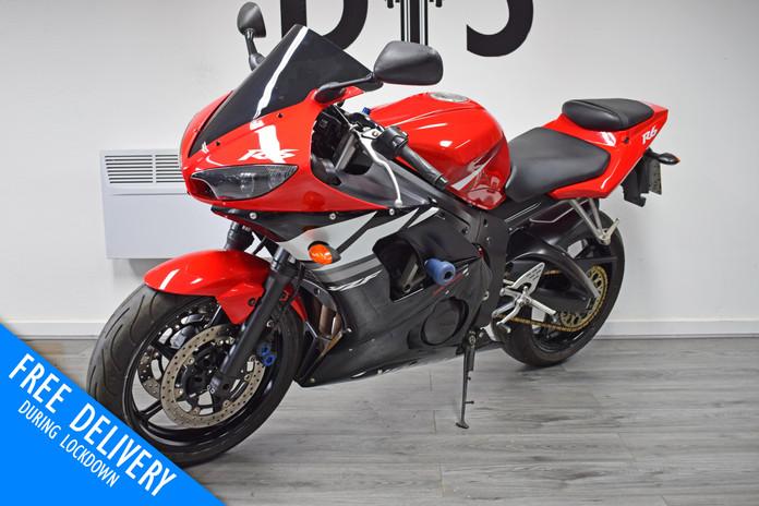 Used Yamaha YZFR6 for sale northampton bike sanctuary front left.jpg