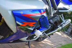Used 2007 Suzuki GSXR1000 Blue White Bik