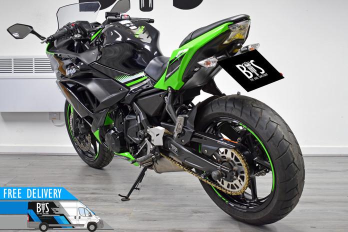 Used Kawasaki Ninja 650 ABS for sale northampton bike sanctuary left rear.jpg
