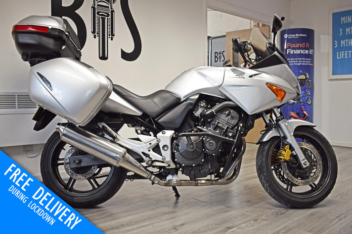 Used Honda CBF600 Tourer for sale northampton bike sanctuary right side.jpg