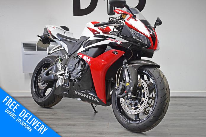 Used Honda CBR600RR for sale red white northampton bike sanctuary front right.jpg