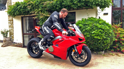 One piece leathers group test with RST, Alpinestars and Dainese
