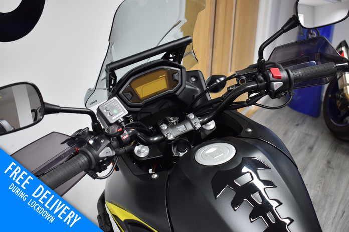 Used Honda CB500X Crosstourer for sale northampton bike sanctuary clocks tank.jpg