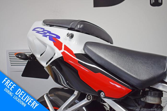 Used Honda CBR900RR Fireblade 1996 for sale northampton bike sanctuary rear seat unit righ