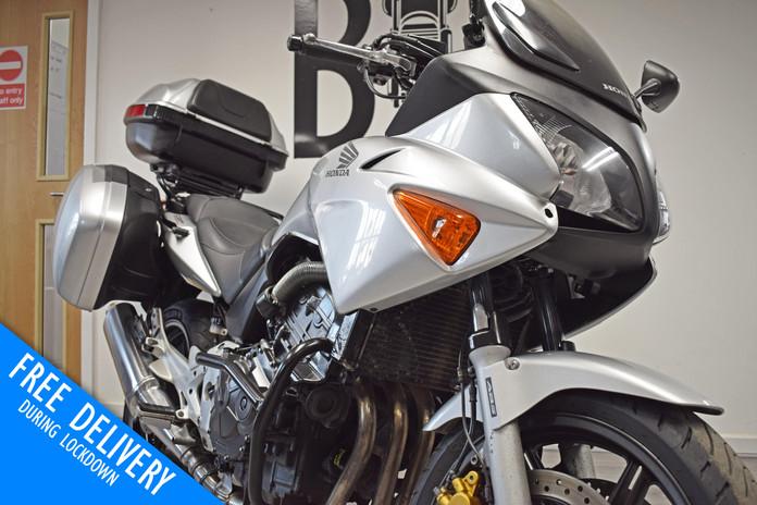 Used Honda CBF600 Tourer for sale northampton bike sanctuary front fairing.jpg