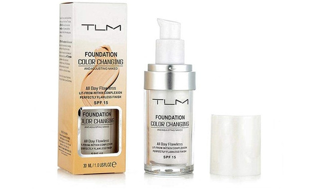 TLM Foundation Colour Changing Skin Tone Adjusting Naked