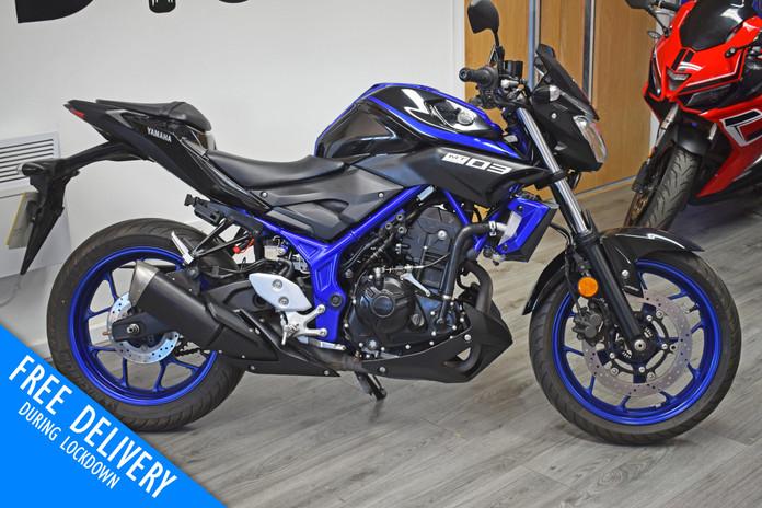 Used Yamaha MT03 for sale Northampton Bi